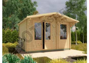 Log Cabin Combi/Shed