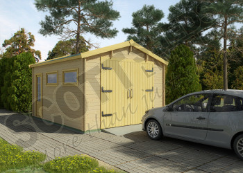 Log Cabin Garages