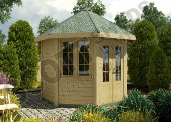 GARWOOD LEISURE CABIN HEX 1