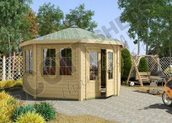 GARWOOD LEISURE CABIN HEX 2